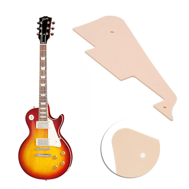 Hot Sell Beige Mirror Plate Guitar Pickguard Scratch Plate For Les Paul Guitar(China (Mainland))