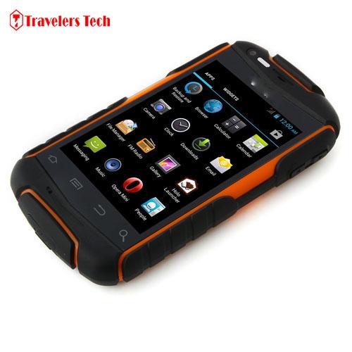 Original Discovery V5 Rugged Smartphone Android 4.2 MTK6572W Dual Core 3.5 Inch 3G Dual SIM Mobile Phone V8 V10(China (Mainland))