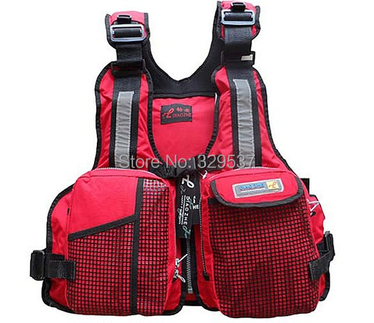 Mesh life vest professional dual-use multi-function removeable life jacket fishing vest with mesh on front big pocket(China (Mainland))
