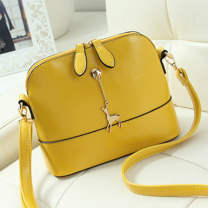 2015 Korean New Fashion Handbags Shell Bag Ladies Shoulder Bag Messenger Essential Shopping Appointment Small Bag(China (Mainland))