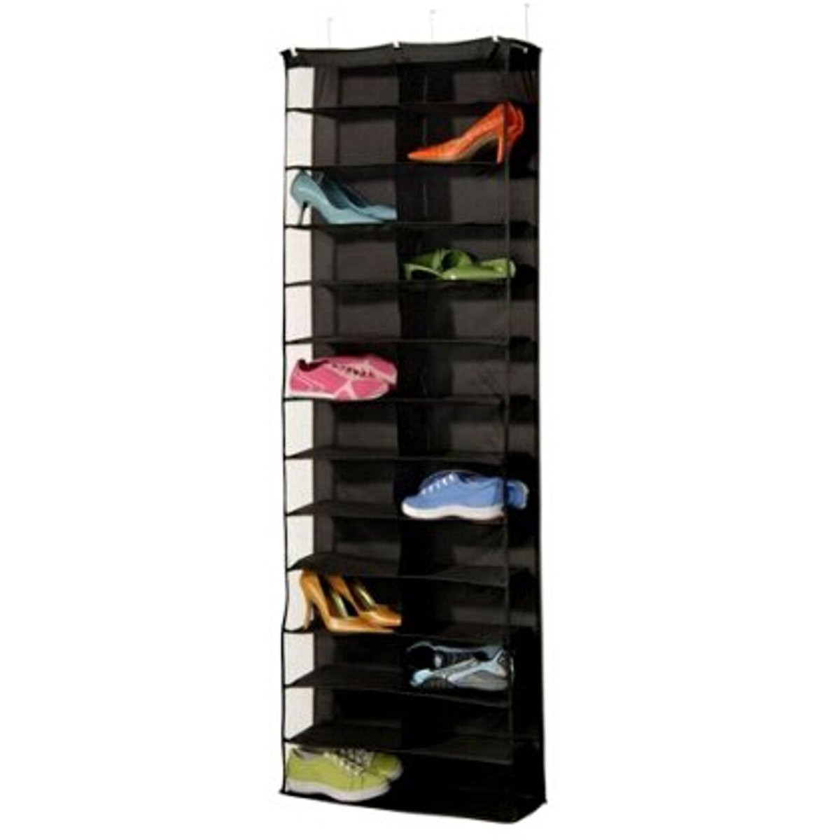 Amazing Door Wall Hanging Shelf 26 Pairs Shoe Rack Bag Shoes Stand Storage Holder Home Living Room Organizer(China (Mainland))