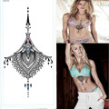 Waterproof Under Breast Tattoo Temporary Ornamental Sexy Tattoo YS X02