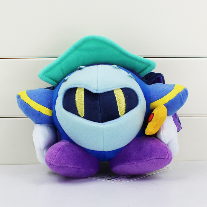 "10pcs/set Anime Kirby Plush Meta Knight Stuffed Plush Toy Soft Dolls With Tag 7""18CM Great Gifts For Kids Free Shipping(China (Mainland))"