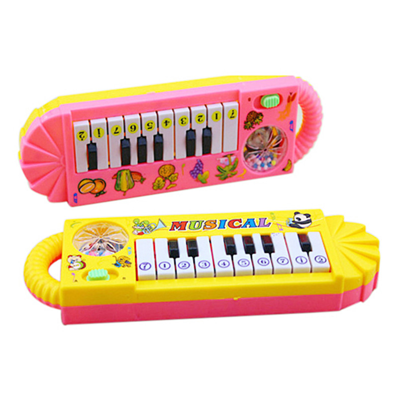 0-7age Baby Infant Musical Piano Developmental Toy Toddler Kids Early Educational Musical Instrument M0073 P15 0.5(China (Mainland))
