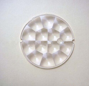 BL-6324, Wholesale &amp; Retail, Led Optical Lens , PMMA Materials, diameter: 63mm, Focal length: 24mm, Thickness: 2mm<br><br>Aliexpress