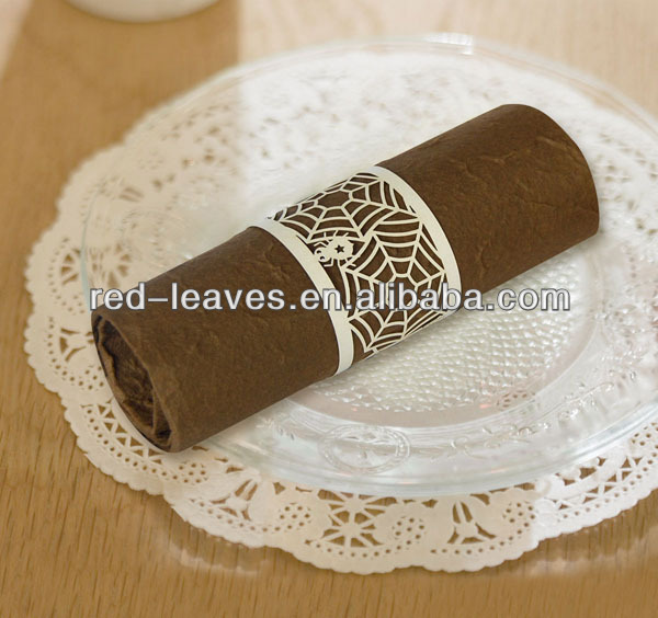 Paper craft products napkin rings Christmas decoration paper towel holder(China (Mainland))