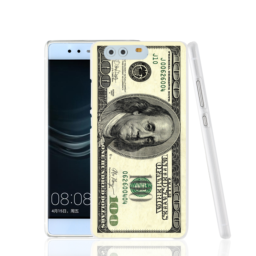 21040 Big Money 100 Dollars cell phone Cover Case for huawei Ascend P7 P8 P9 lite mini Maimang G8(China (Mainland))