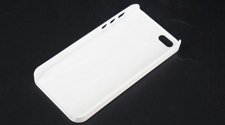 10pcs lot White Blank DIY 3D sublimation Smooth glossy Mat Matte Case Cover Skin Full Area Heat Printed For Iphone 5 5S SE
