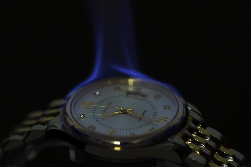 Мужские Часы Новый GUANQIN Марка Мода часы Авто Дата Человек Часы Роскошные Мужчины Бизнес Наручные Военные Часы Мужчины Relogio Masculino