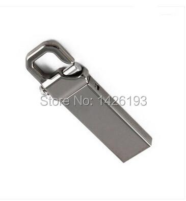 Stainless Steel Waterproof Metal USB Flash Drives U Disk Storage Pen Drive USB 2.0 Memory Stick Disk 2GB 4GB 8GB 16GB 32GB 64GB(China (Mainland))