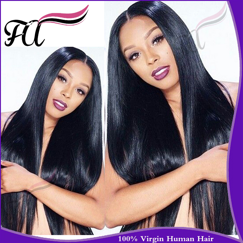 4Pcs Lot Brazilian Straight Virgin Hair Bundles Grade 5A 100% Human Remy Hair Extensions Prom Queen Hair Products Free Shipping(China (Mainland))