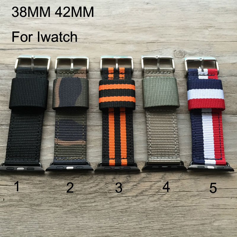 Special design,Canvas sport Apple Watch Belt, Nylon 38MM 42MM Watch Band, Suitable For Iwatch,Free Shiping<br><br>Aliexpress