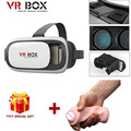 VR Box 2 0 Version Headset Google Cardboard 3D Glasses for huawei p8 Samsung S7 iphone