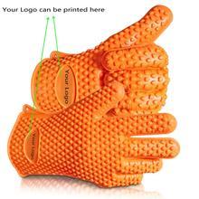 silikon bbq handschuhe hitzebest ndig kochen handschuh topflappen grillen handschuhe topflappen. Black Bedroom Furniture Sets. Home Design Ideas