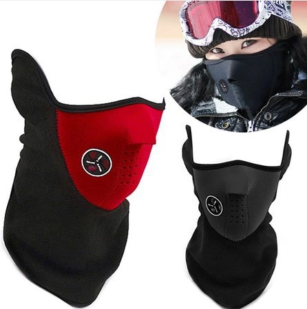 New Thermal Neck warmers Bike Mask Fleece Balaclavas CS Hat Winter Skiing Ear Windproof Warm Face Mask Motorcycle Bicycle Scarf(China (Mainland))