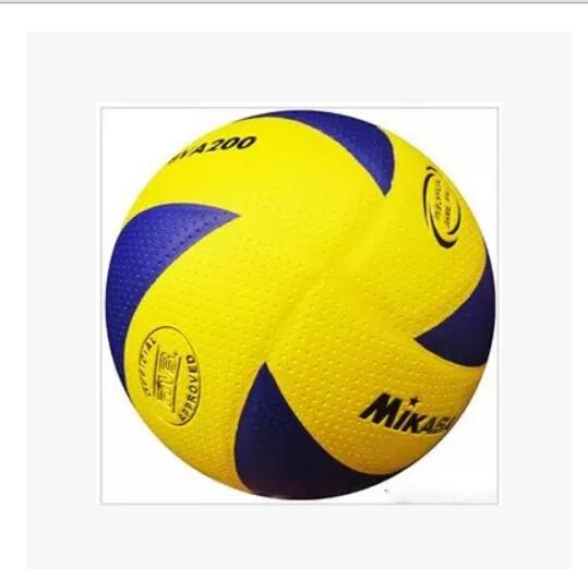 Free shipping FIVB Official size 5 MVA200 PU Laminated volleyball.(China (Mainland))