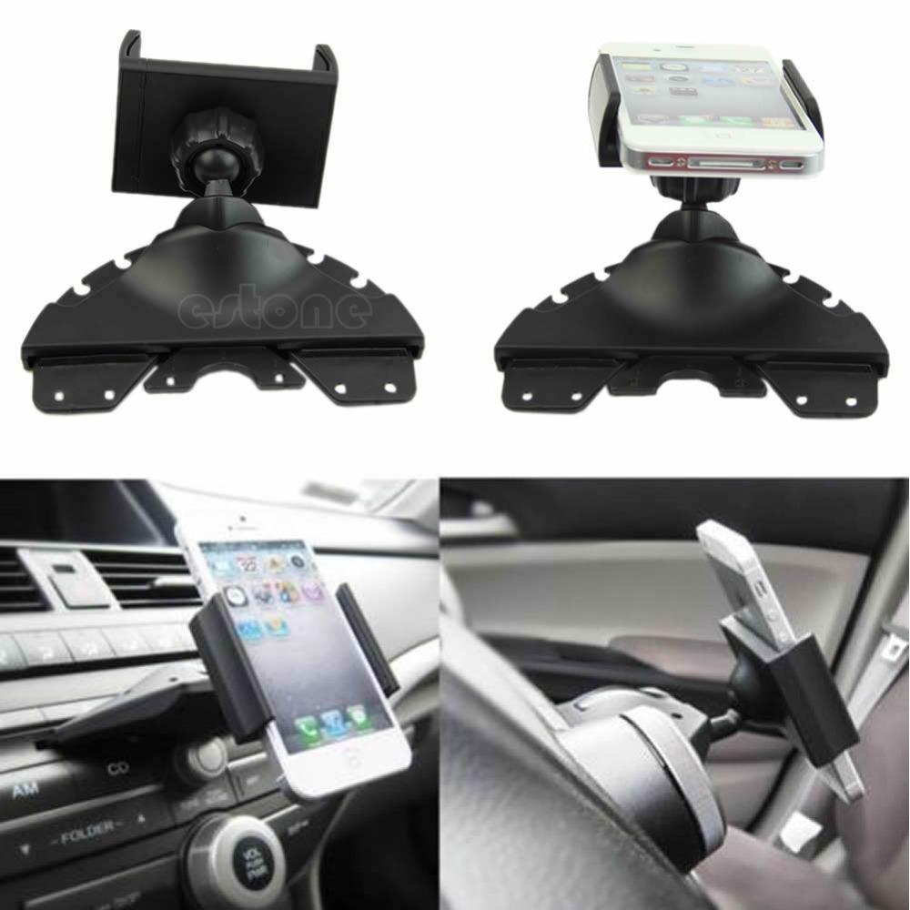 "Z101"" Universal CD Player Slot Smartphone Mobile Phone Car Auto Mount Holder Cradle(China (Mainland))"