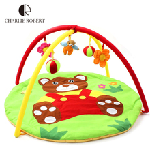 Bear Baby Toy Baby Play Mat 0-1 Year Game Tapete Infantil Educational Crawling Mat Play Gym Cartoon Blanket Puzzle Carpet HK870(China (Mainland))