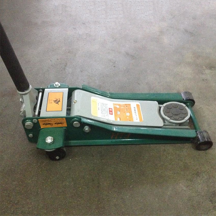 Double Pump Flat Hydraulic Jack 3 Tons Max Lifting Height 500mm(China (Mainland))