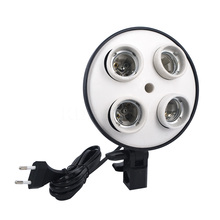 High Quality New Photo Lighting Lamp Video Studio E27 4in1 50 x 70cm 4x Head Socket Softbox For Digital Photo Photography(China (Mainland))