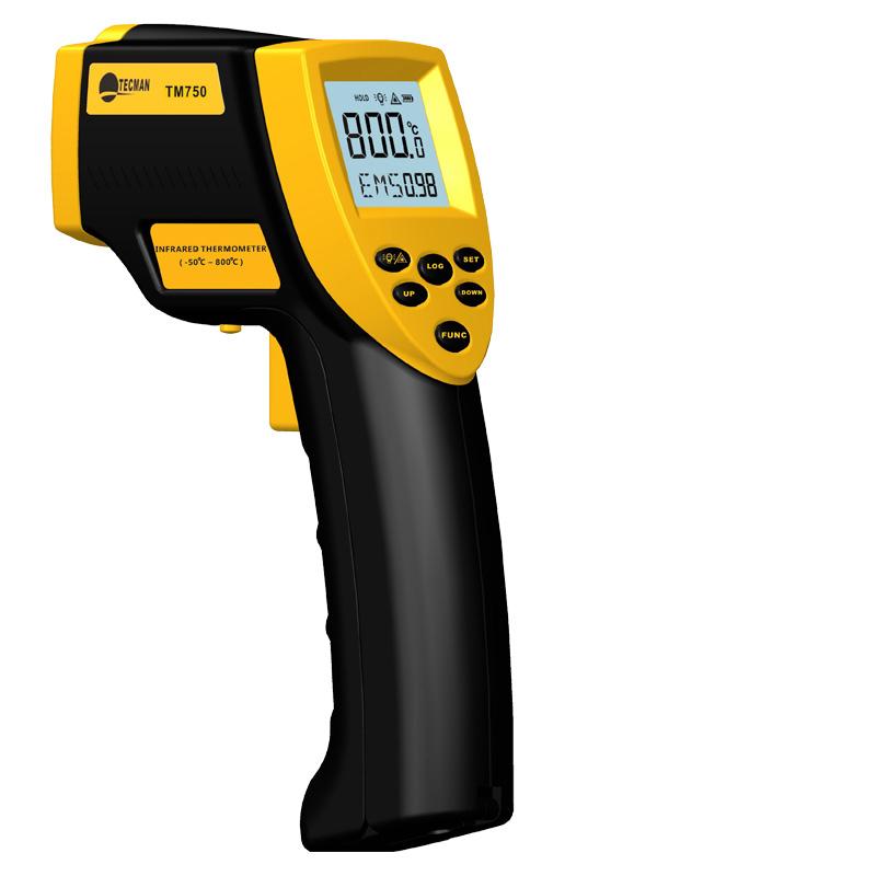 Free shipping Digital Infrared Thermometer TM600 Outdoor Pyrometer -50C-700C Acquarium Laser Thermometers Meter Temperature Gun(China (Mainland))
