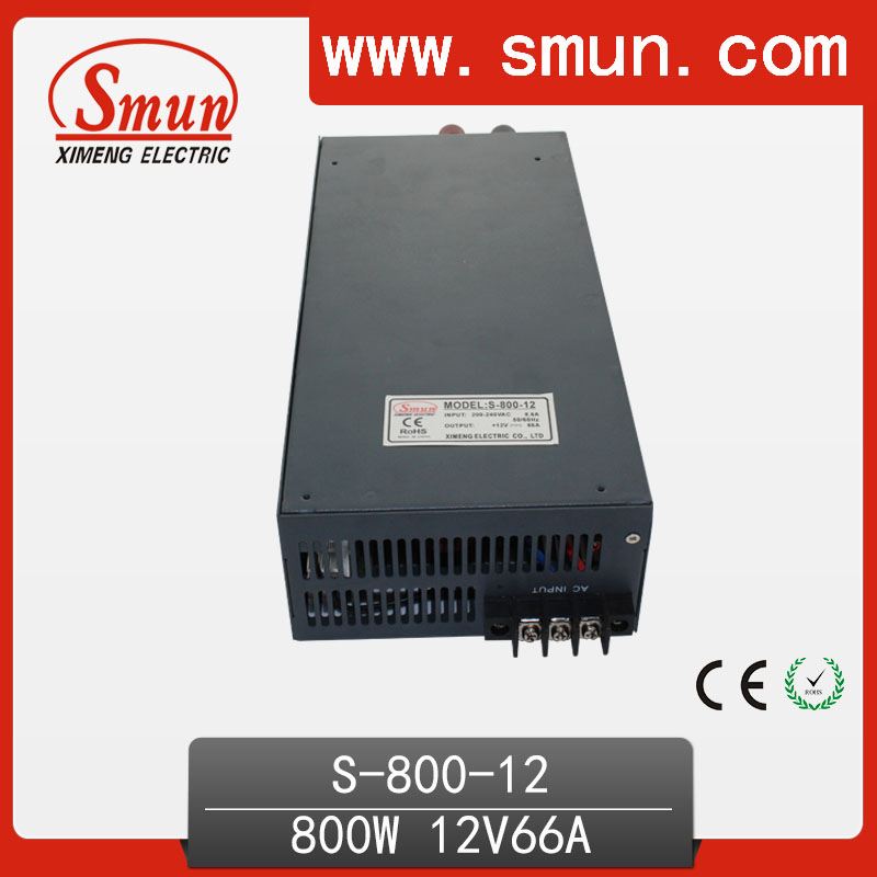800W12V66A single output switching power supply 220vac output smun<br><br>Aliexpress