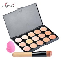 15 Color Pro Concealer Face Primer Cream Contour Palette Make Up Facial Contouring Palette Makeup Corrector Base Palette 1439319(China (Mainland))