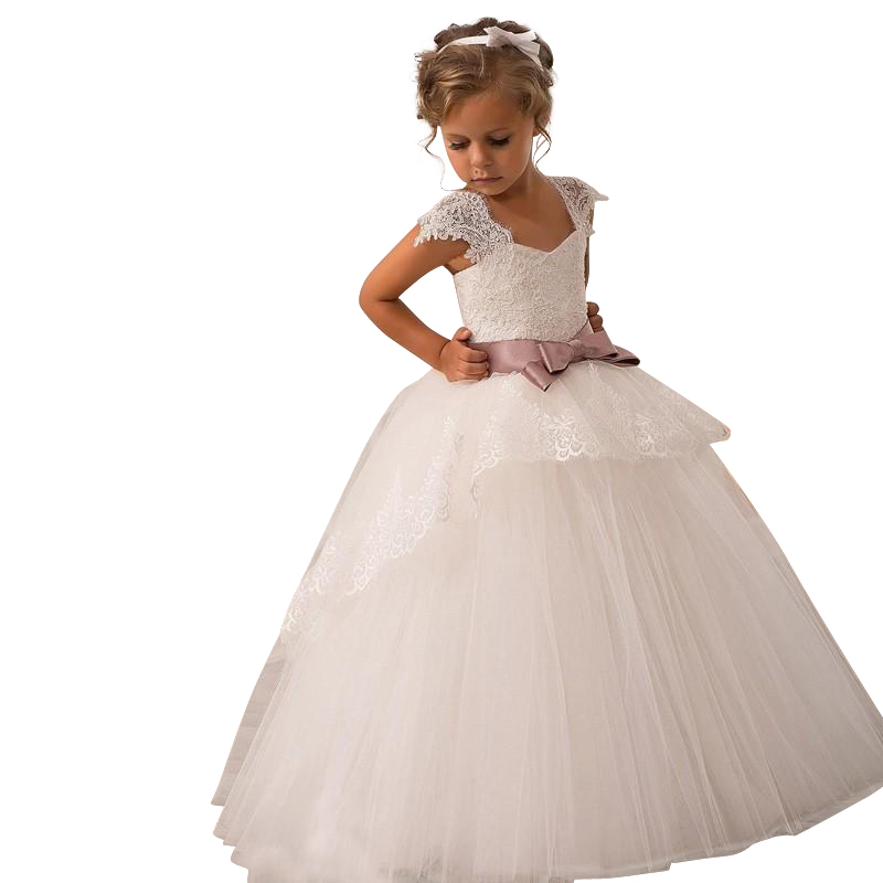 2015 new ball gown wedding party dress pageant dress for for Wedding dresses for young girls