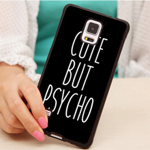 Buy Cute Psycho Printed Soft Rubber Mobile Phone Cases Samsung S3 S4 S5 S6 S7 edge plus Note 2 3 4 5 Back Cover for $4.39 in AliExpress store