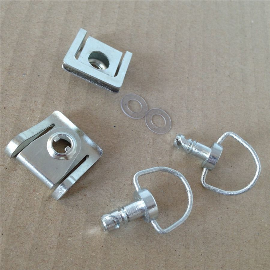 Motorcycle Quick Release D-ring Turn Race Fairing Fastener For KTM Ducati chrome(China (Mainland))