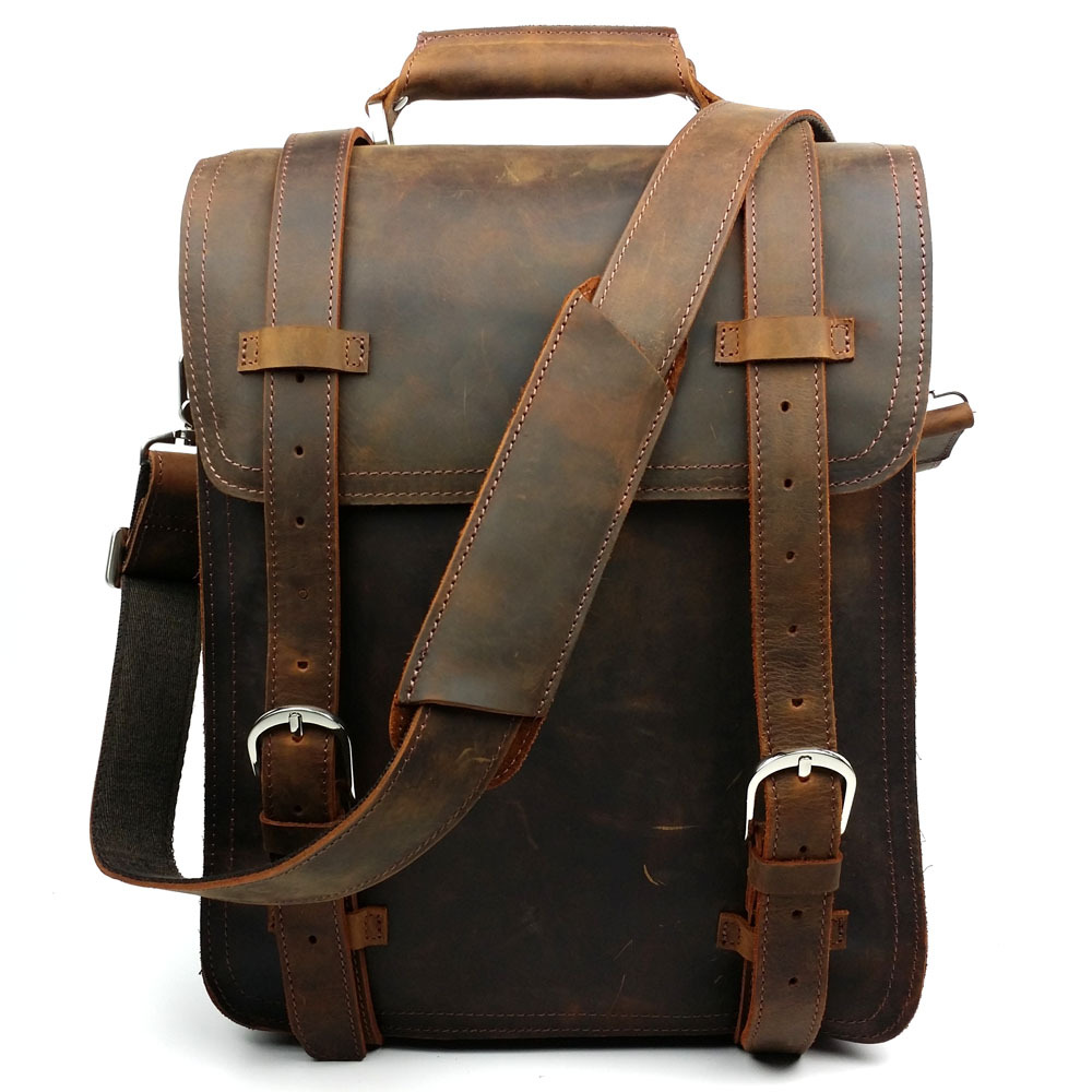 Quality Leather Backpacks - Crazy Backpacks