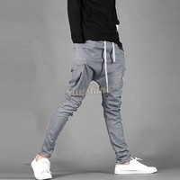 2015 Hot Sale Spring and Autumn Men's Casual Pants Loose Sports Trousers Casual Sports Pants Men's Skinny Sweatpants 25