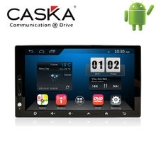 7'' 1024x600 CASKA 2 din in dash system Universal Android 4.4.2 Fits for All Car Models OEM standard GPS Navigation Multi-media(China (Mainland))