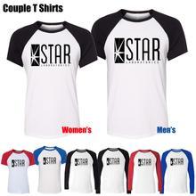 STAR Laboratories The Flash DC Comics TV Series S.T.A.R. Labs Design Printed T-Shirt Womens Girl's Tee Tops