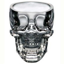 New Crystal Skull Head Vodka Whiskey Shot Glass Cup Drinking Ware Home Bar Cup Mug(China (Mainland))