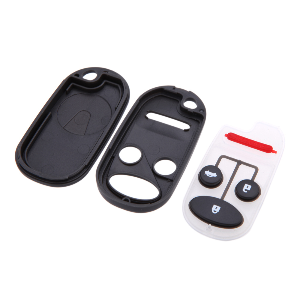 Hot sale uncut blade remote car key shell case cover for for Honda replacement key cost
