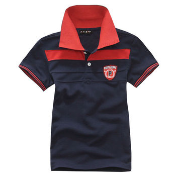 Wholesale 4 pcs summer blue green red Children child boy Kids baby short sleeve casual cute cotton polo shirt T-shirt PEXZ02P19