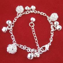 New Arrival Plated Silver Bracelet Hollow Ball Bracelet Wholesale Fashion Jewelry Bracelet Best Gift