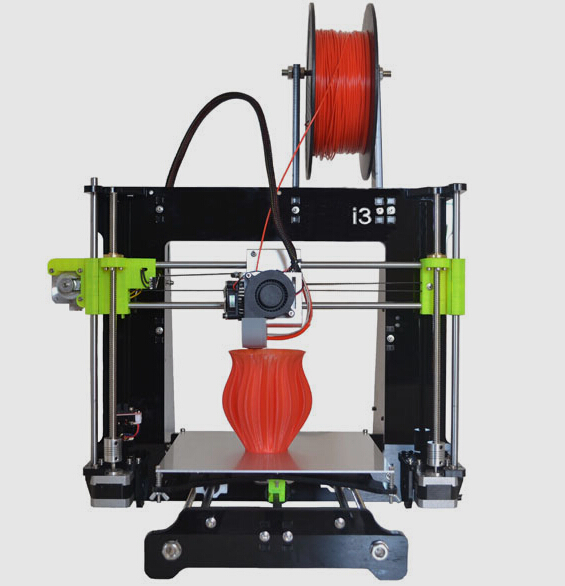 2015A Upgraded Quality High Precision Reprap DIY Printer kit with printer 3D print LCD prusa I3