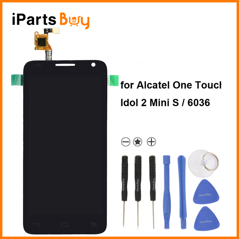 iPartsBuy LCD Screen + Touch Screen Digitizer Assembly for Alcatel One Touch Idol 2 Mini S / 6036 / 6036Y