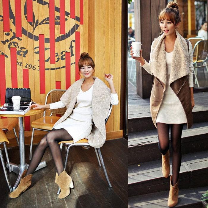 Женский жилет China Brand G0888 Leather Vest Coat жилет женский zoo york nylon vest black