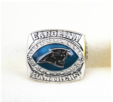 2003 Carolina Panthers NFC Super bowl XXXVIII World Championship Ring as gift size 11(China (Mainland))