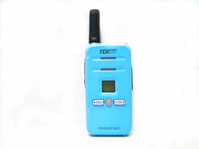 Intercom mini colorful Mickey Mouse letter TDX37 5W walkie-talkie radio flashlight function