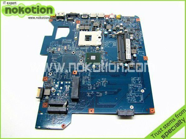 mbbhb01001 Laptop motherboard For Gateway NV59 TJ75 INTEL With ATI Video Card DDR3 48.4GH01.01M GOOD Quality Working well(China (Mainland))