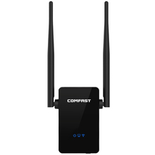 Comfast WIFI Repeater Router 300M Dual 5dBi Antenna Signal Booster Wireless-N wi fi Repeater 802.11N/B/G Network Roteador Wifi(China (Mainland))