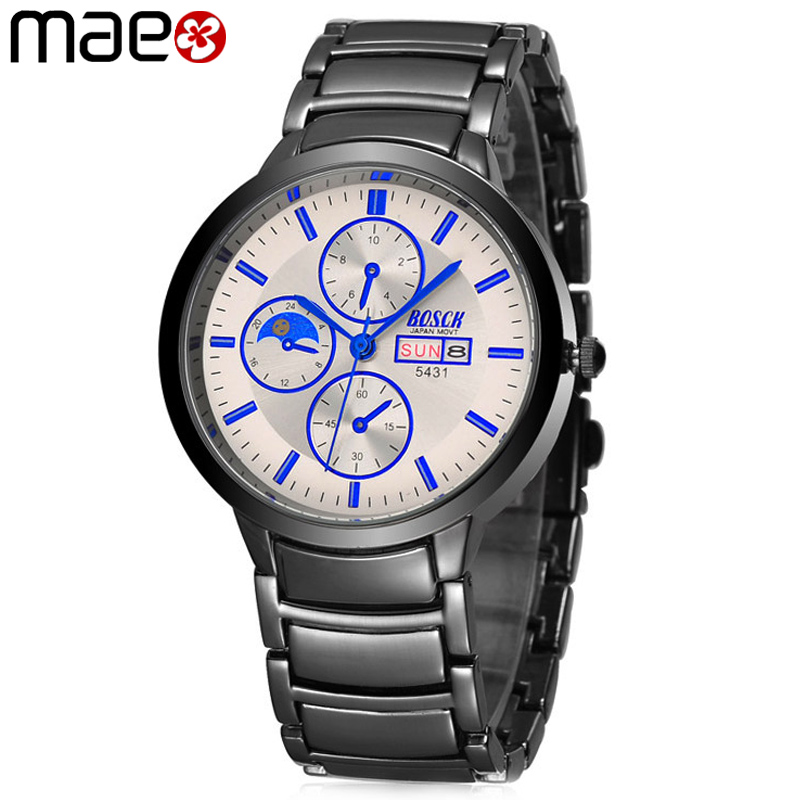 Luxury Brand Watch Men Military Black Steel Date Day Waterproof Business Wristwatch Casual Sport Quartz Clock relogio masculino<br><br>Aliexpress