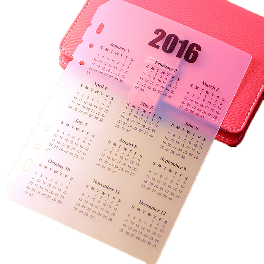 10 Pcs/lot Functional Spiral Transparent The Calendar and Transparent Ruler School Line In Notebooks As Bookmark Office Supplies(China (Mainland))