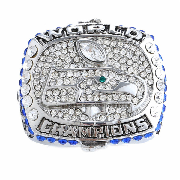 Replica NFL Jersey Rhinestone Alloy Seattle World Championship Rings For Men Fashion Wholesale Aneis Bijouterie A226(China (Mainland))