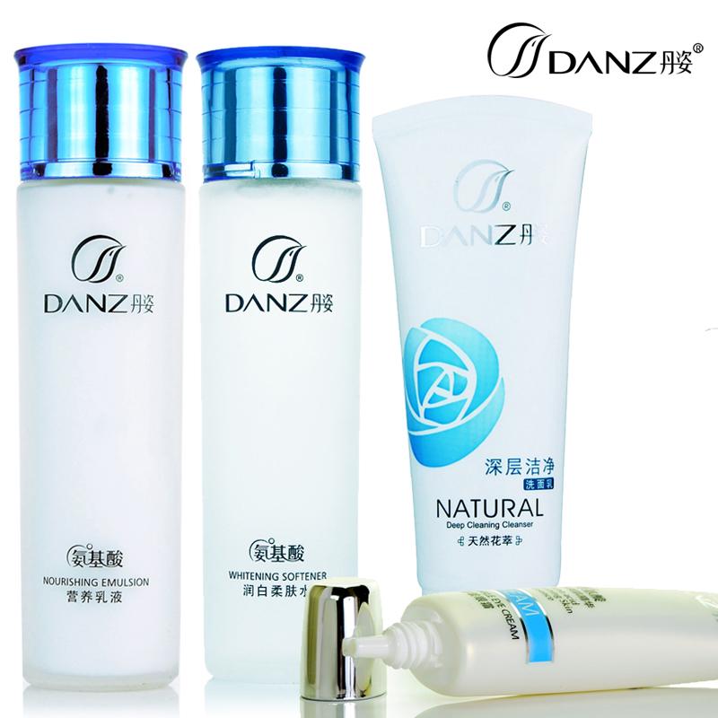 Water set amino acid whitening moisturizing skin care products set female(China (Mainland))