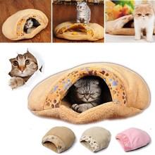 2015 l'arrivée de nouveaux de haute qualité chat chaton Cave Pet hiver chaud Bed maison Puppy de couchage Mat Pad de chien de Igloo nid(China (Mainland))
